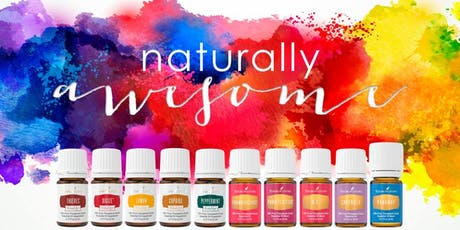 Say Hello to Essential Oils for Healthy Living tickets