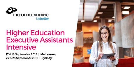 Higher Education Executive Assistants Intensive tickets