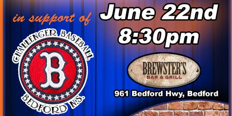 Comedy Night and silent auction in support of Bedford Challenger Baseball tickets