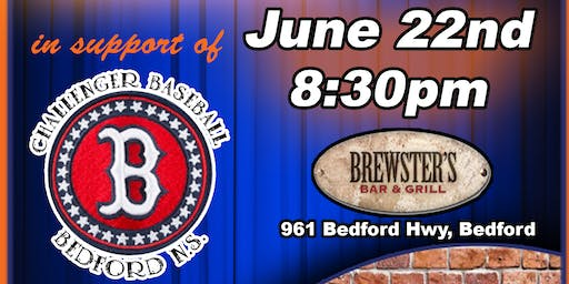 Comedy Night and silent auction in support of Bedford Challenger Baseball