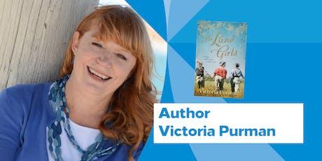 Author Talk: Victoria Purman tickets