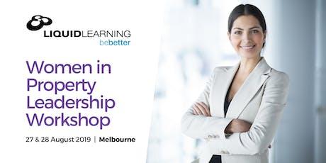Women in Property Leadership Workshop tickets