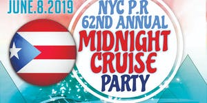 Pre Puerto Rican Parade Midnight Party Cruise NYC...