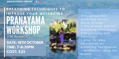 Pranayama Workshop - Breathing Techniques to Improve Your Well-Being! tickets