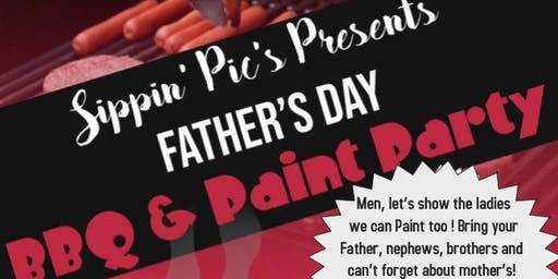 Father's Day Paint Party and BBQ
