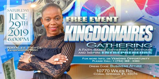 Kingdomaires  Gathering - A Faith-Based Event For Entrepreneurs (FREE)