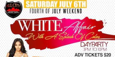 WHITE AFFAIR Boat Ride Sat Aug 31st tickets