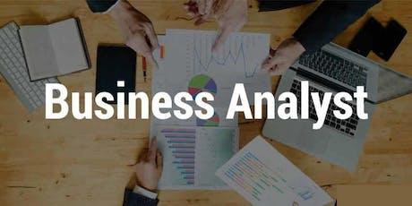 Business Analyst (BA) Training in Monterrey for Beginners | CBAP certified business analyst training | business analysis training | BA training tickets