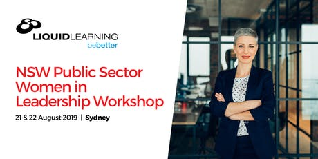 NSW Public Sector Women in Leadership Workshop tickets