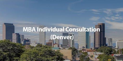 CUHK MBA Individual Consultation in Denver