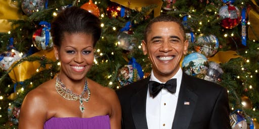 Michele and Barack Obama Paint and Sip (Couples Night)