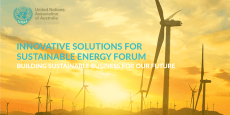 Innovative Solutions for Sustainable Energy Forum tickets