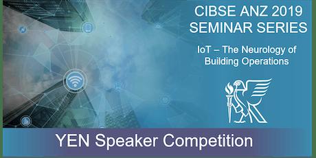 CIBSE WA YEN | 2019 Seminar Series - YEN Speaker Competition tickets