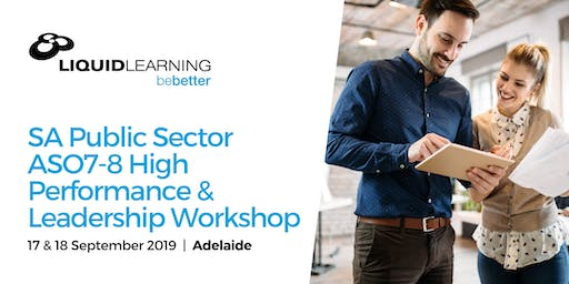 SA Public Sector ASO7-8 High Performance & Leadership Workshop
