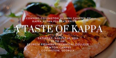 A Taste of Kappa Gala tickets