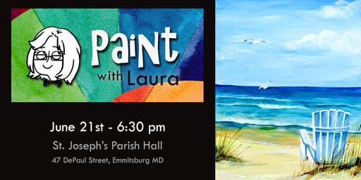 Paint with Laura: Seaside View