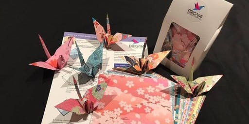 Origami Social Meetup for Adults - Make Paper Cranes, Relax & Make Friends