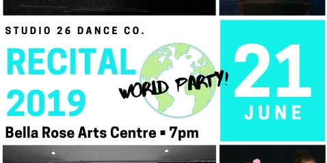 Studio 26 Dance Co. June Recital- World Party!