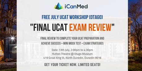 Final UCAT Exam Review tickets