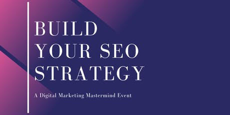 Build Your SEO Strategy tickets