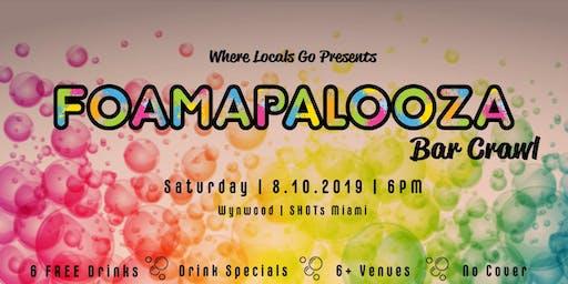 Foamapalooza Bar Crawl Wynwood