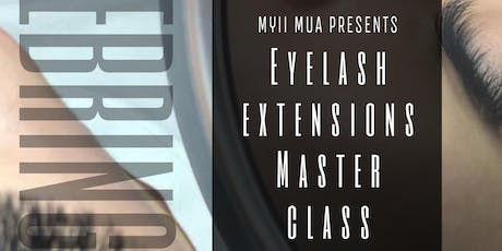 Eyelash Extension Master Class-SEBRING FL by MYIIMUA tickets