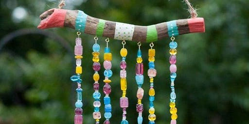 Kids Recycled Wall Hanging workshop