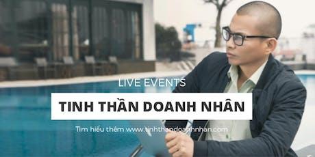 TINH THẦN DOANH NHÂN 19 - Tp. Hồ Chí Minh tickets