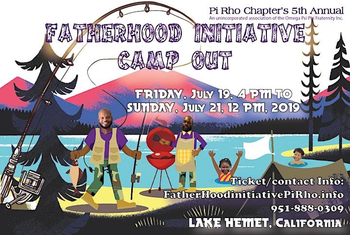 Fatherhood Initiative Camp Out 2019 image