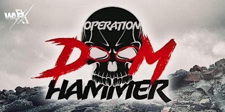 War-X: Operation Doom Hammer tickets