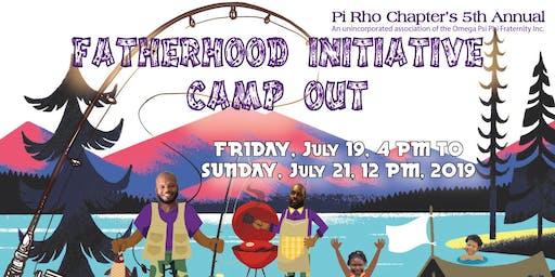 Fatherhood Initiative Camp Out 2019