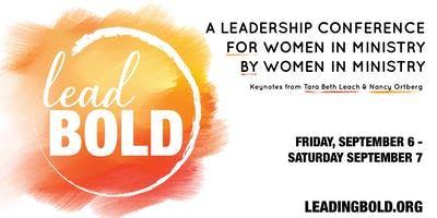 Lead Bold Conference