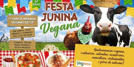 Festa Junina Vegana ingressos