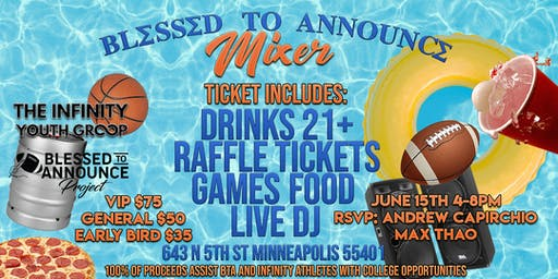 Blessed to Announce Mixer
