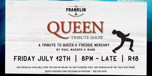 Queen & Freddie Mercury - Tribute show