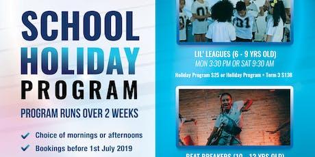 School Holiday DANCE Program July 2019 | Élan Dance Est. tickets