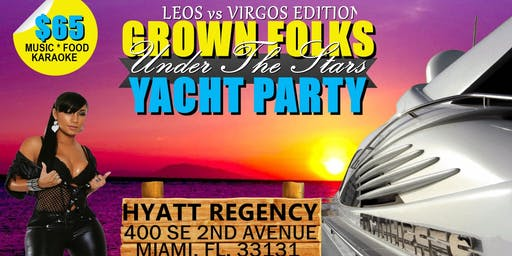 Grown Folks Under The Stars Yacht Party