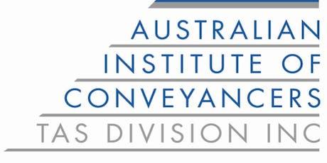 AIC Conveyancing Forum 2019 tickets