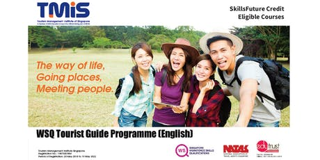 WSQ Tourist Guide Programme Course Preview tickets