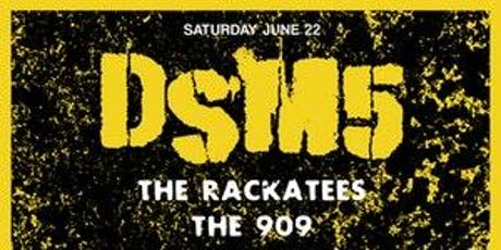 DSM5 / The Rackatees / The 909 / The Real Zebos @ miniBar tickets