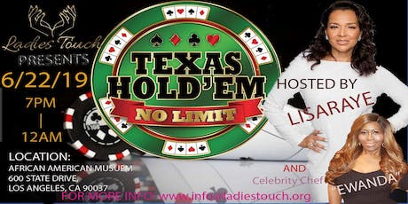 "LadiesTouch Presents ""No Limit Texas Hold'Em"" tickets"