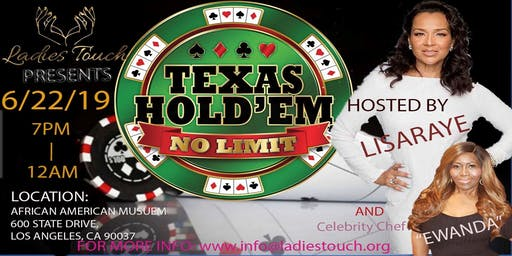 "LadiesTouch Presents ""No Limit Texas Hold'Em"""