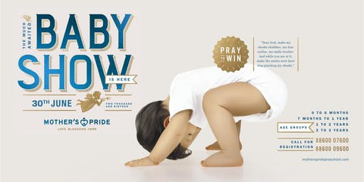 BABY SHOW CONTEST- 30th JUNE 2019 | REGISTER NOW!