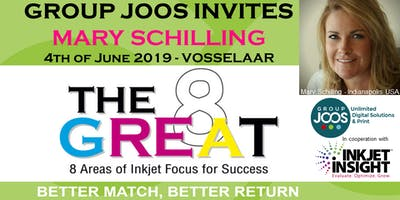 The Great 8 - Group Joos invites Mary Schiffer