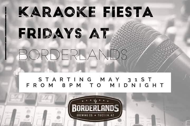 Karaoke Fiesta Fridays banner