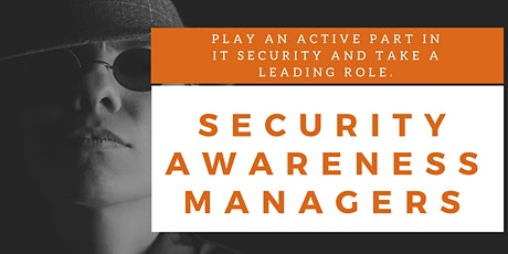 Security Awareness Managers Online Training (English) tickets