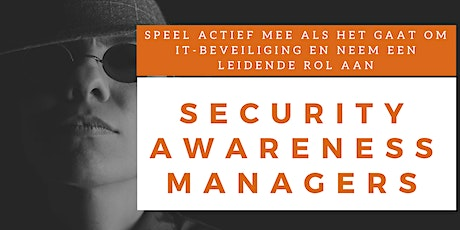 Security Awareness Managers Training (English) tickets
