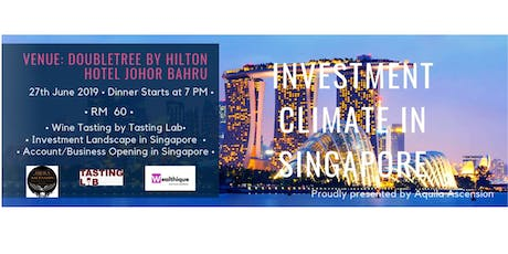 Investment Climate in Singapore tickets
