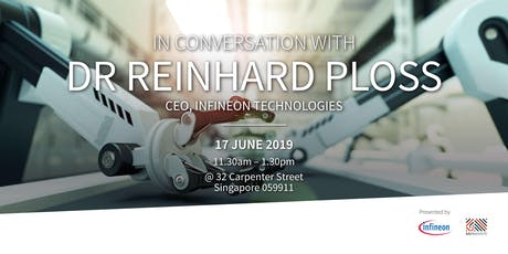 In Conversation with Dr. Reinhard Ploss tickets