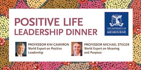 Positive Life Leadership Dinner tickets